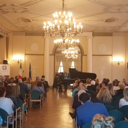 Riga Gold Hall of the Riga Latvian Society House Daklen Difato